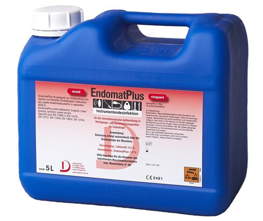 Endomat Plus | Desinfektion für die Endoskopie | - 5 Liter